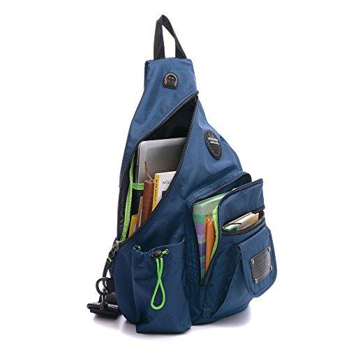 Singles Shoulder Bag (Blue) - 1