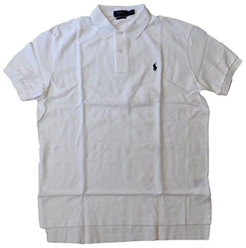 Polo Ralph Lauren Classic Fit Mesh Polo  L  White