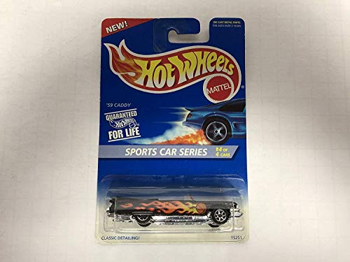 '59 CADDY Sports Car Series 1996 Hot Wheels No. 15251 diecast 1/64 scale car