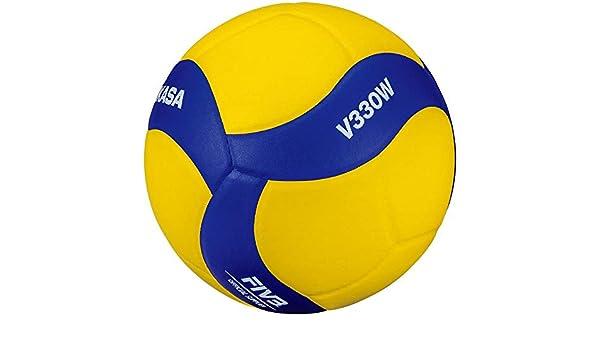 MIKASA V330W - Balón de Voleibol, Color Azul, Talla 5: Amazon.es ...