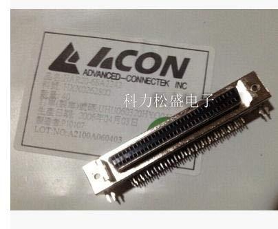 Gimax 5PCS HAR20-68A2242 SCSI 68P female connector bent pin DIP