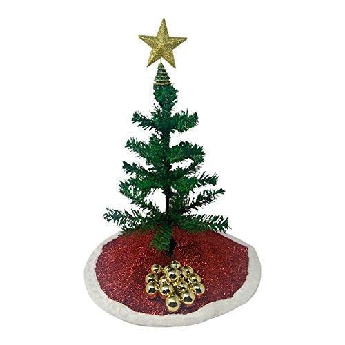 Christmas Mini Tree Set Decorate Your Own Festive Desktop Artificial 18
