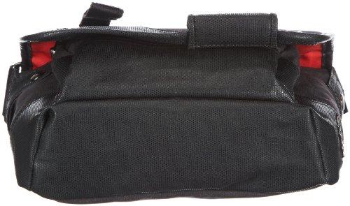 Sansibar Sumatra - Bolso de hombro de material sintético mujer negro - negro