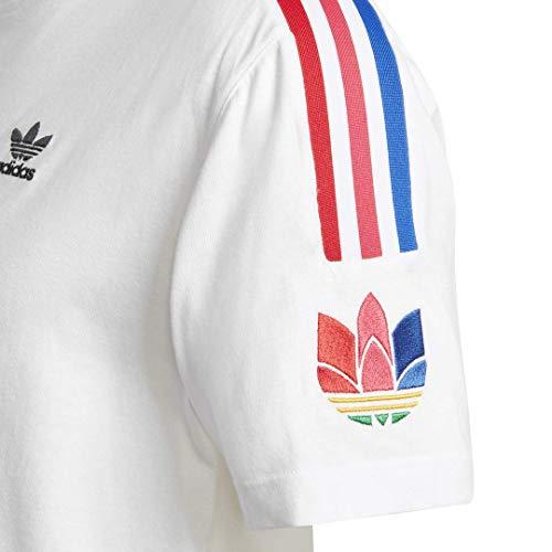 adidas Originals Men's 3D Trefoil 3-Stripes Tee 5
