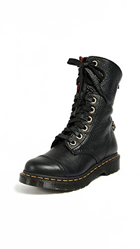 Boot Black Sally Leather Martens Fashion Aimilita Black Aunt Women's Dr w8a4xqzq