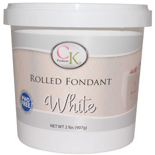 CK Products Rolled Fondant, 2-Pound, White