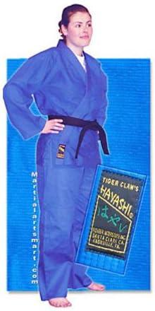 青 Single Weave Hayashi Judo Gi - Size 5