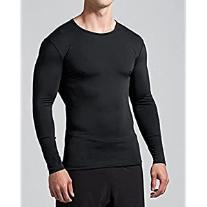 Bloomun Full Sleeve Black Compression/Inner Tops