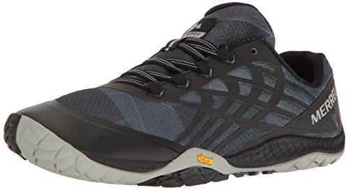 Merrell Women's Glove 4 Trail Runner,Black,9.5 M US