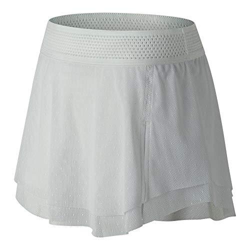 (New Balance Women's Tournament Skort, White, X-Large )