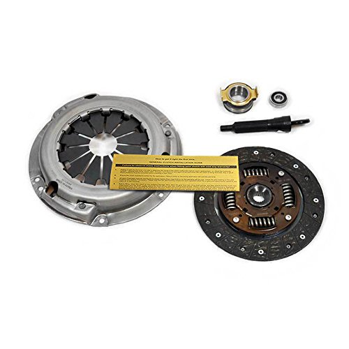 (EFT PREMIUM CLUTCH KIT 1989 1990 1991 GEO METRO 1.0L 3CYL TURBO CANADIAN MODEL)