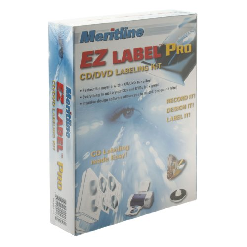 Meritline EZ Label Pro CD/DVD Labeling Kit