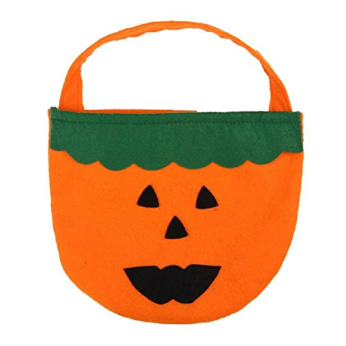 Lookatool Halloween Smile Pumpkin Bag Kids Candy Bag Children (Jeux De Halloween Coloriage)
