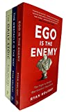 img - for Ryan Holiday Collection 3 Books Set (Ego is the Enemy, The Obstacle is the Way, The Daily Stoic) book / textbook / text book
