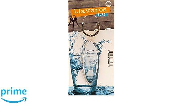 Amazon.com : Llavero Surf Biblico (Spanish Keytag with Bible ...