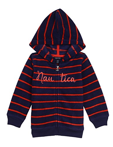 Nautica Baby Girls' Super Soft Fleece Hoody,