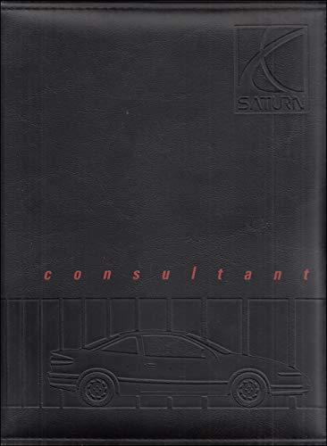 Saturn Dealer - 1991 Saturn Color & Upholstery Dealer Album/Data Book Original