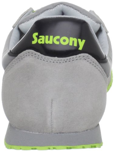 Saucony Originals hombre Bullet Classic Retro Running Zapatillas Grey / Citron