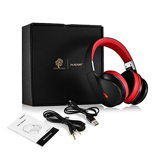 AUSDOM AH2 On-Ear Bluetooth 4.0 EDR Stereo Base Headphones