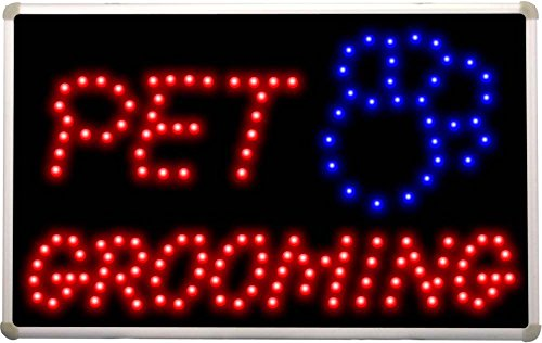led011 Pet Grooming Dog Shop LED Neon Light Sign (Pet Grooming Sign Neon)