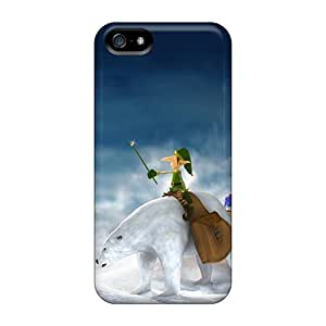 Tpu Fashionable Design Gifts For Christmas Rugged Case Cover For Iphone 5/5s New