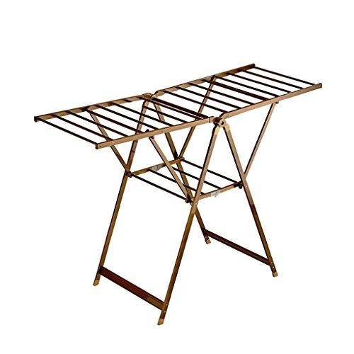 COAT RACK Free Standing, Foldable Aluminum, Indoor Balcony D