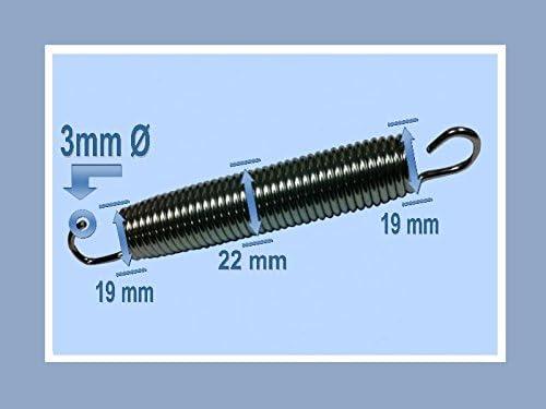 84 St/ück Trampolin Feder 16,5 cm Ersatzfeder// Sprungmatte//Randabdeckung//Sicherheitsnetz
