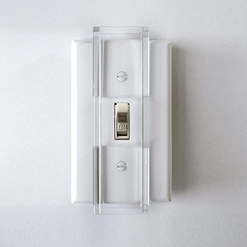 Light Switch Covers Kids - Child Proof Light Switch Guard - for Standard (Toggle) Style Switches