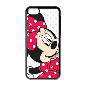 Mickey and Minnie iPhone 5c Cell Phone Case Black ftkz