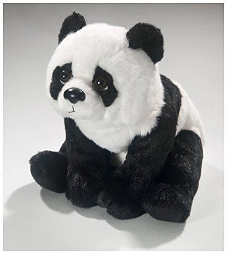 (Carl Dick Panda Bear Sitting 10.5 inches, 26cm, Plush Toy, Soft Toy, Stuffed Animal 3371)