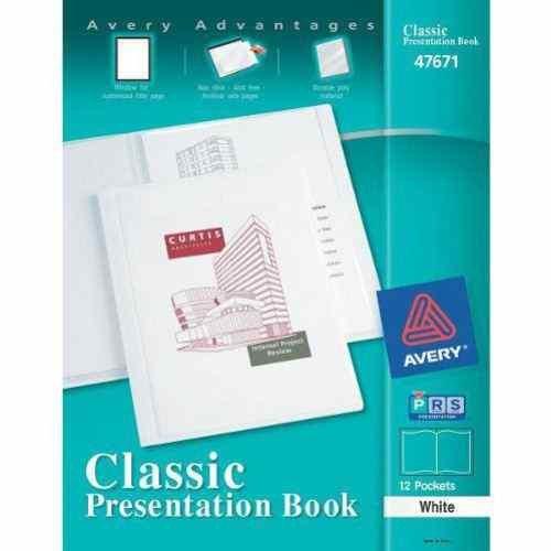 Avery Classic Presentation White 47671