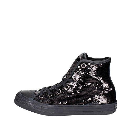 Mujer Zapatillas Black CTAS Negro Chuck Converse Taylor para Black Hi Black 001 Y7OnRqw