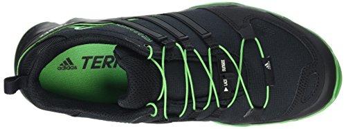 adidas Terrex Swift R, Scarpe da Arrampicata Basse Uomo Nero (Core Black/Core Black/Energy Green)