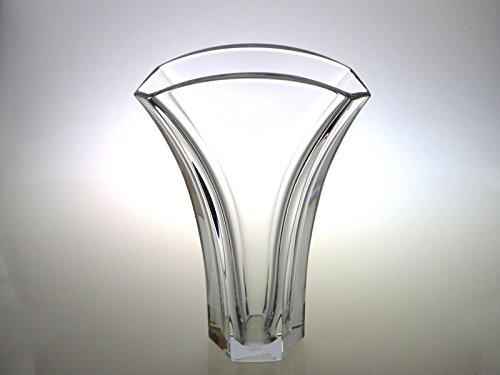 バカラ 花瓶 ● ギンコ 銀杏 イチョウ フラワーベース ベース クリスタル Gingko B07F2CYLGH