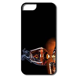 Custom Cool Thin Fit Brandy Glass IPhone 5/5s Case For Family
