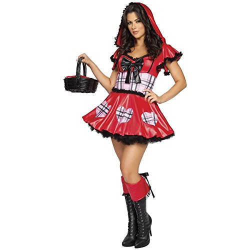 [Wolf Bait Costume - Small/Medium - Dress Size 2-6] (Zombie Race Car Driver Costume)