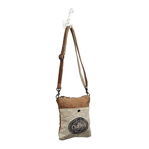 Chicago 0888 Crossbody The Upcycled Myra Bag Bag Canvas S ZHEwnpx