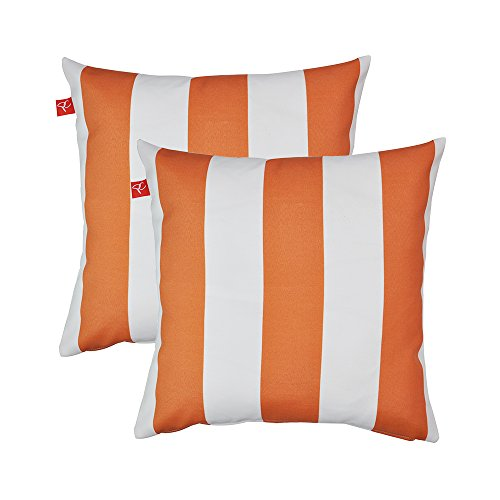 orange outdoor pillows - 7
