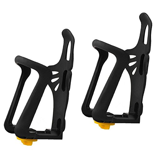Water Bottle Holder Plastic For Cycling Black - 4