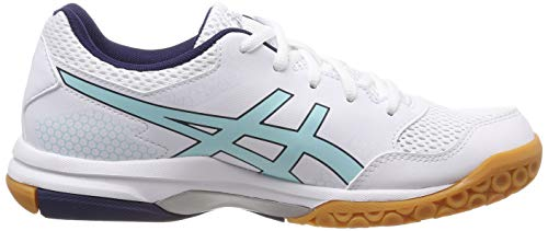 white Chaussures Volleyball Morning rocket icy 115 Femme De 8 Gel Multicolore Asics tq4gw87x