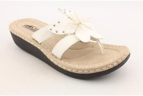 Faux Leather Wedge Sandals Shoes UK