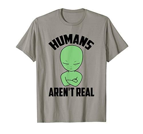 Alien Funny Halloween Humans Aren't Real UFO