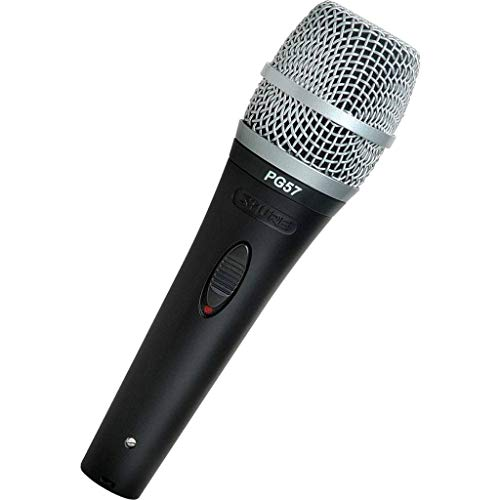 (Shure PG57-LC Instrument Dynamic Microphone, Cardioid)