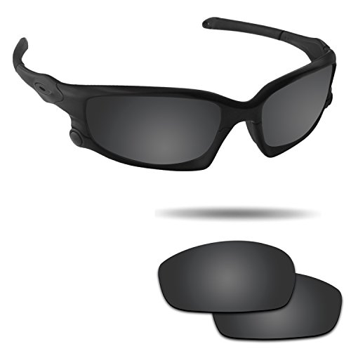 Fiskr Anti-saltwater Polarized Replacement Lenses for Oakley Split Jacket - Split Oakley Jacket Lens