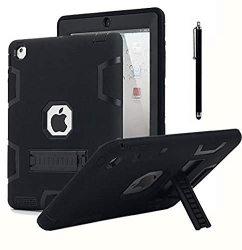 Shockproof Heavy Duty Armor Case for Apple iPad Air 2 (Green) - 8