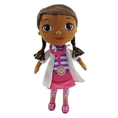 5Star-TD Doc McStuffins Beans Doc Plush: Toys & Games