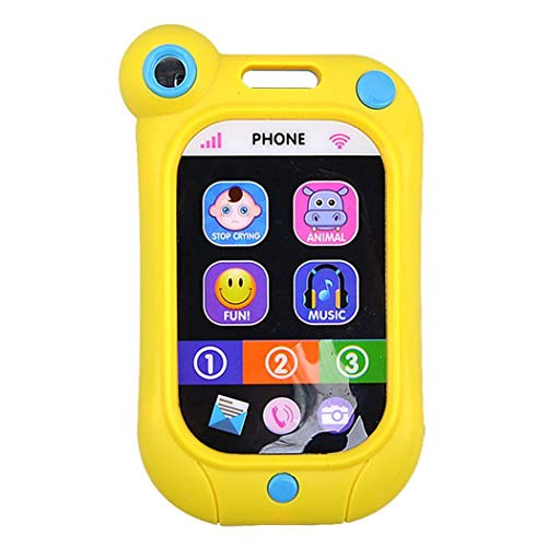 GuGio Touch Baby Smart Phone Toy Random Color Multi-Functional English Version(1 pc)