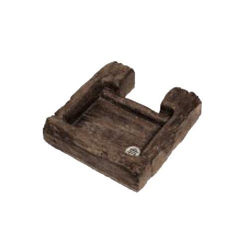 ガーデンパン 水受け ウォータービュースモール 角型コテージパンS B06XNK99KD 10605