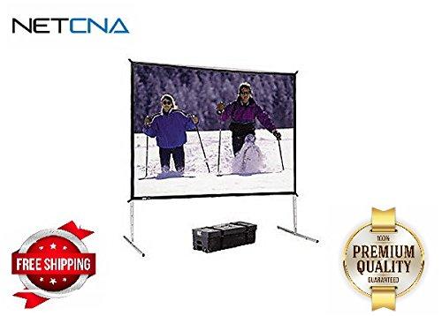 Da - Lite fast-foldデラックス画面システム投影画面with Heavy Duty le – by NETCNA B01LB97O1Q