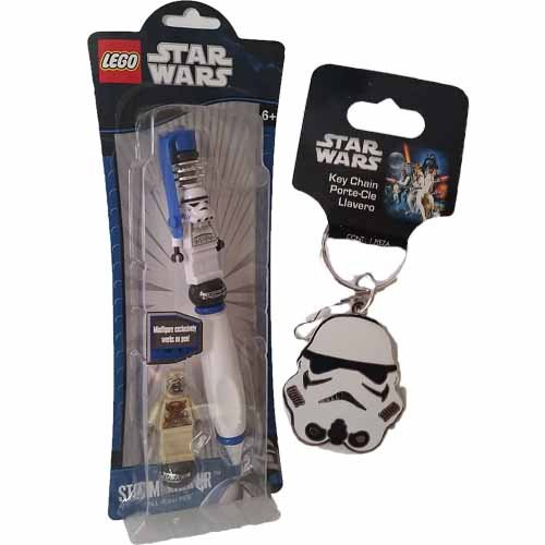 Amazon.com : Bundle of 2 Items - Star Wars Stormtrooper ...